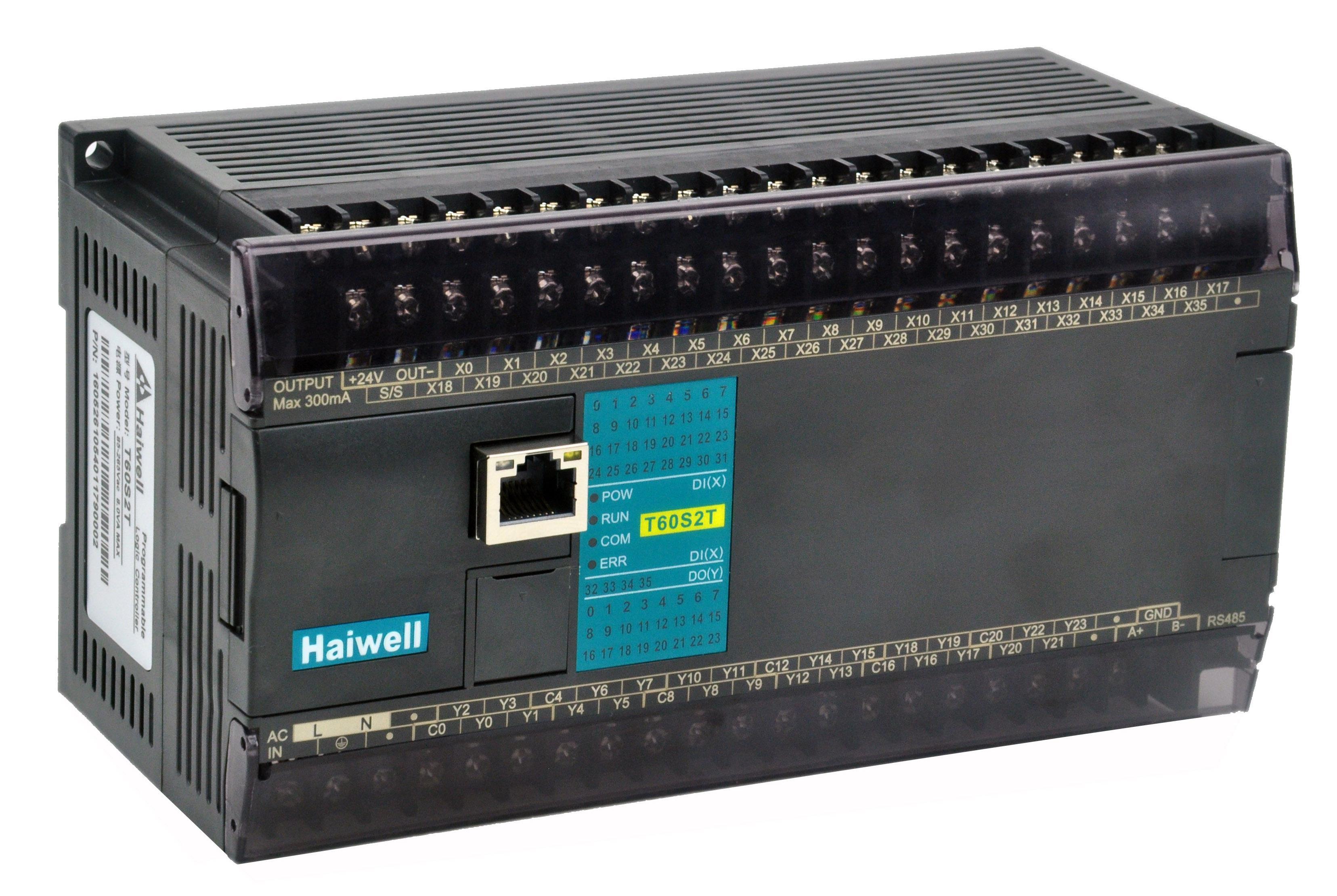 H系列-高性能型PLC主機